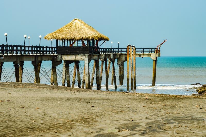 Pilastro scenico in Costa Rica immagini stock libere da diritti