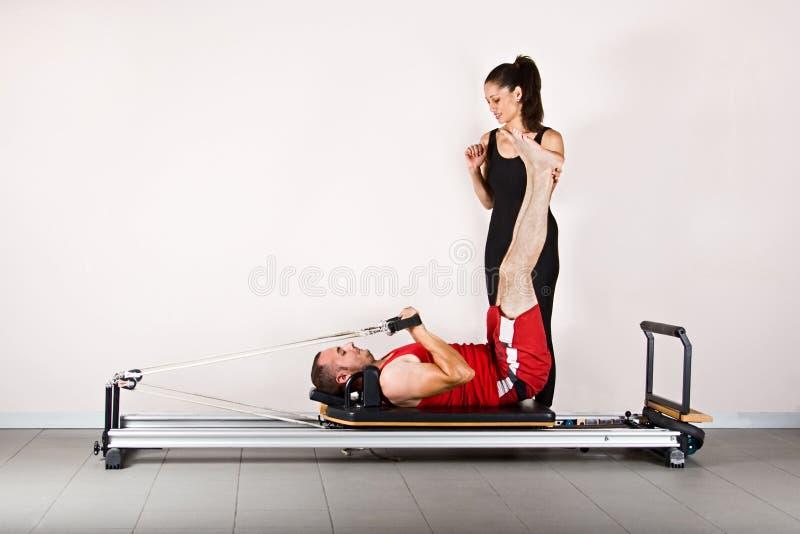 pilates гимнастики стоковые изображения