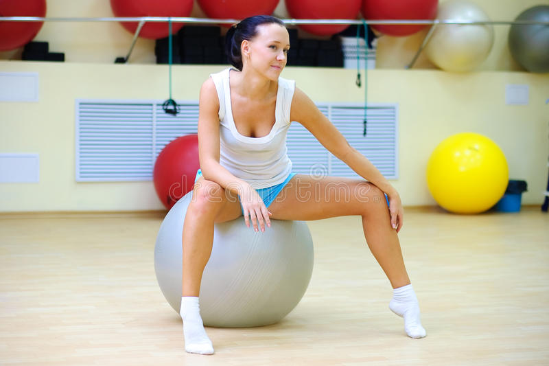 Download Pilates stock image. Image of gymnasium, club, burn, female - 18190853