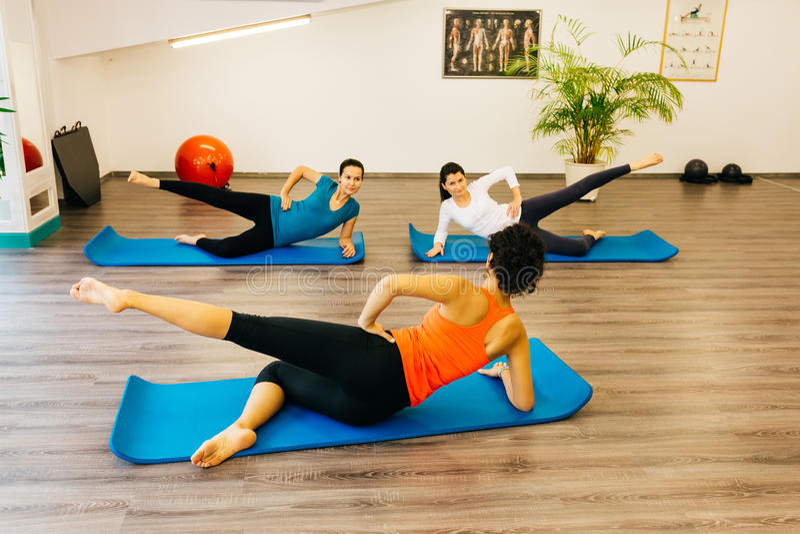 Pilates zdjęcia stock