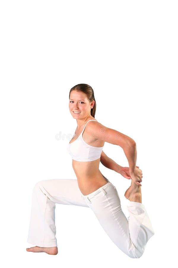 Pilates Beauty Girl Royalty Free Stock Image