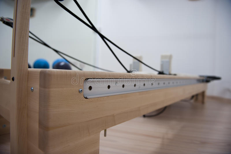 Download Pilates Cadillac machine stock photo. Image of muscular - 21388754