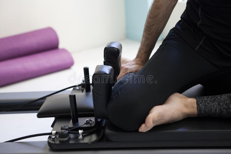 Pilates equipment royalty free stock images