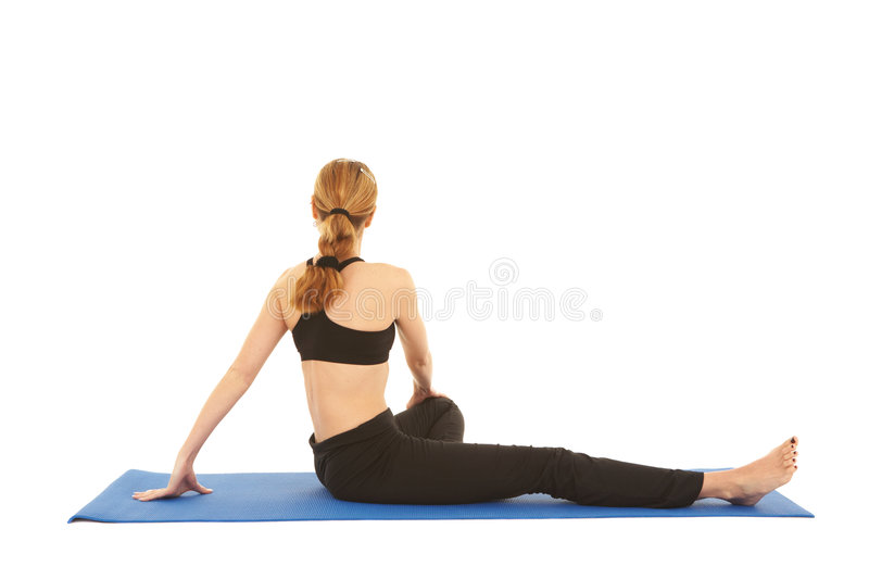 Download Pilates Exercise Series Royalty Free Stock Image - Image: 5578976