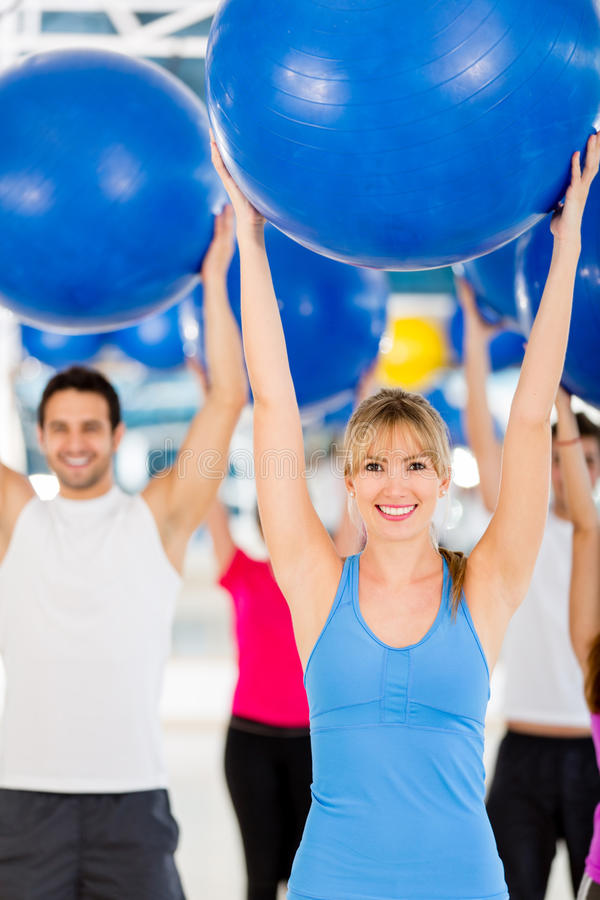 Download Pilates instructor stock image. Image of fitness, loss - 25980311