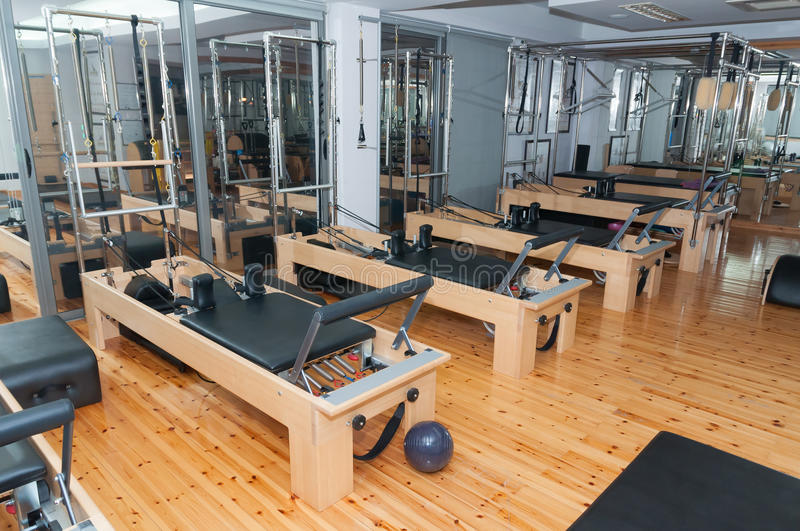 Pilates room stock photography