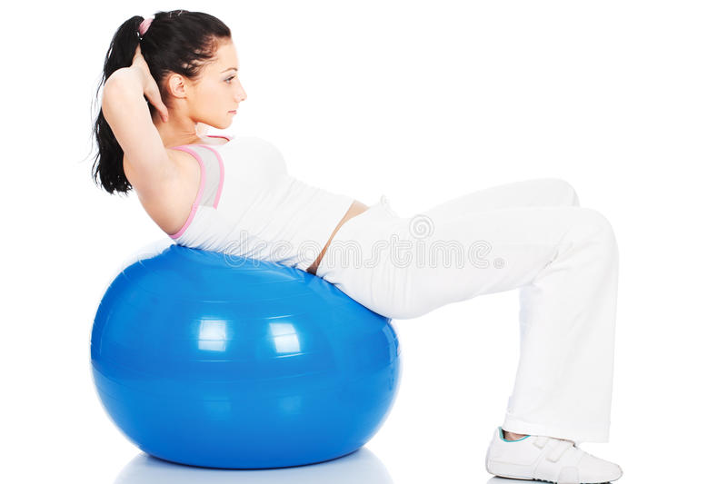 Download Pilates training stock photo. Image of life, shape, aerobics - 22851272