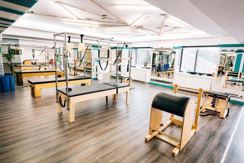 Pilates utrustning royaltyfri fotografi