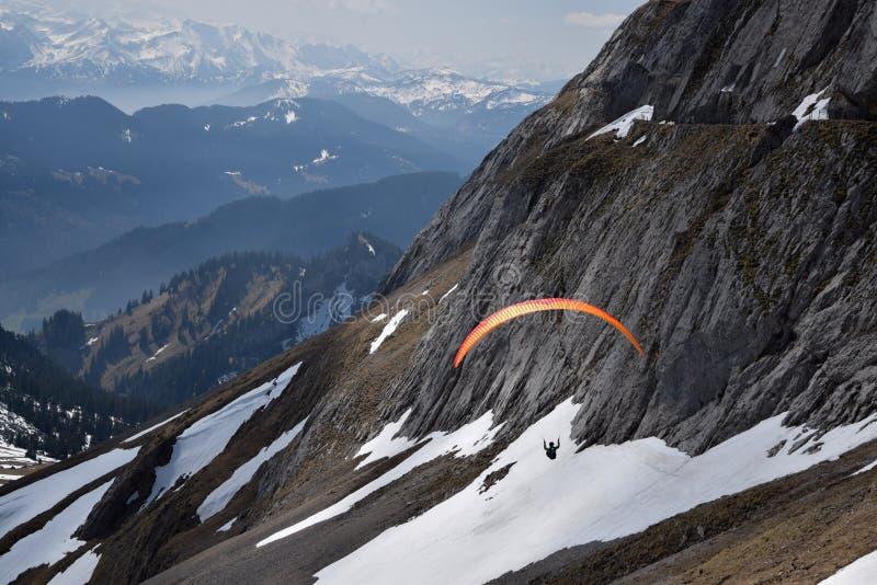 Pilatus em Suíça, montagem Pilatus fotografia de stock