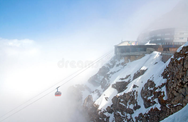 Pilatus Mountain Alps royalty free stock photo