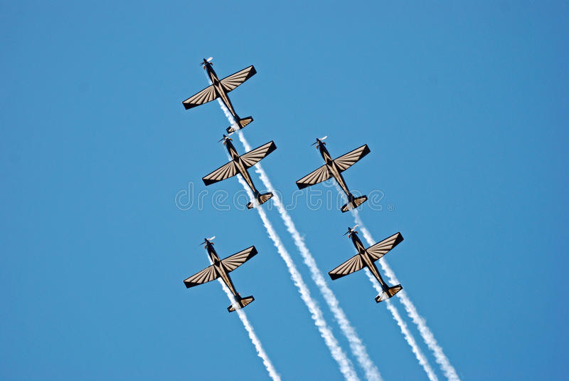 Download Pilatus PC-7 Mk II Astra Aerobatics Team Editorial Image - Image: 14653170