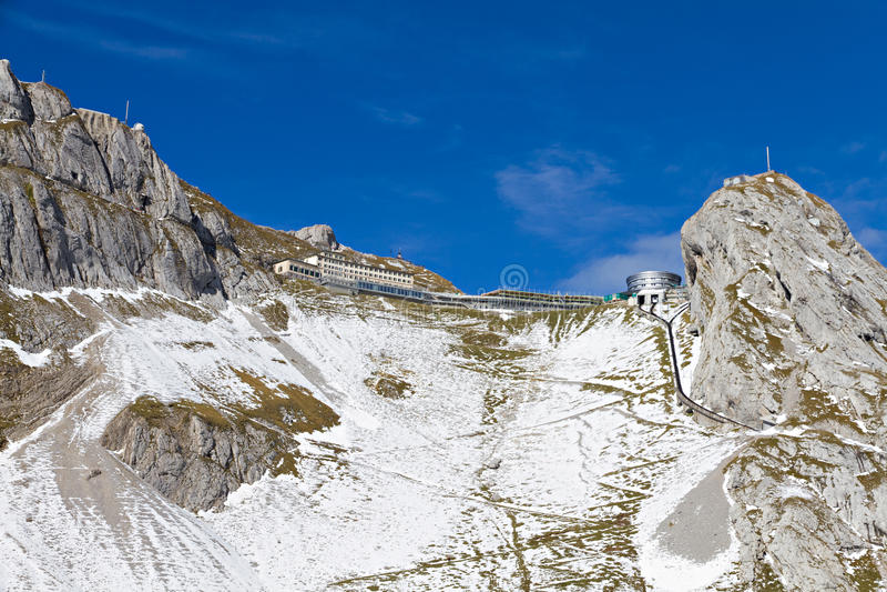 Pilatus peak, Switzerland royalty free stock images