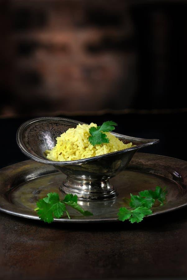 Pilau Rice stock images