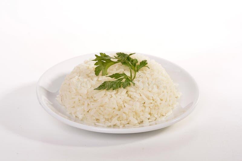 Pilau (traditioneel Gekookte Turkse Rijst) royalty-vrije stock afbeelding