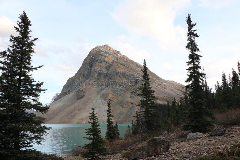 Pilbåge sjön sörjer fotografering för bildbyråer