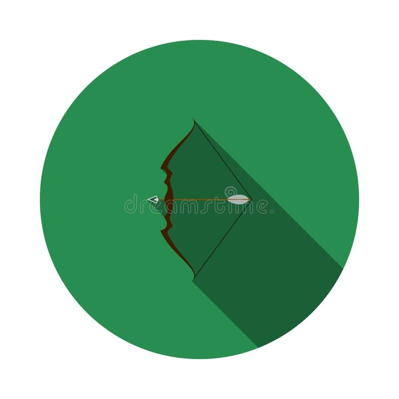 Pilb?ge med pilsymbolen stock illustrationer