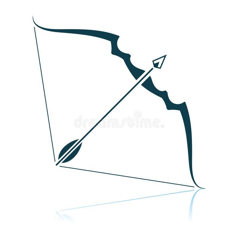 Pilb?ge- och pilsymbol vektor illustrationer