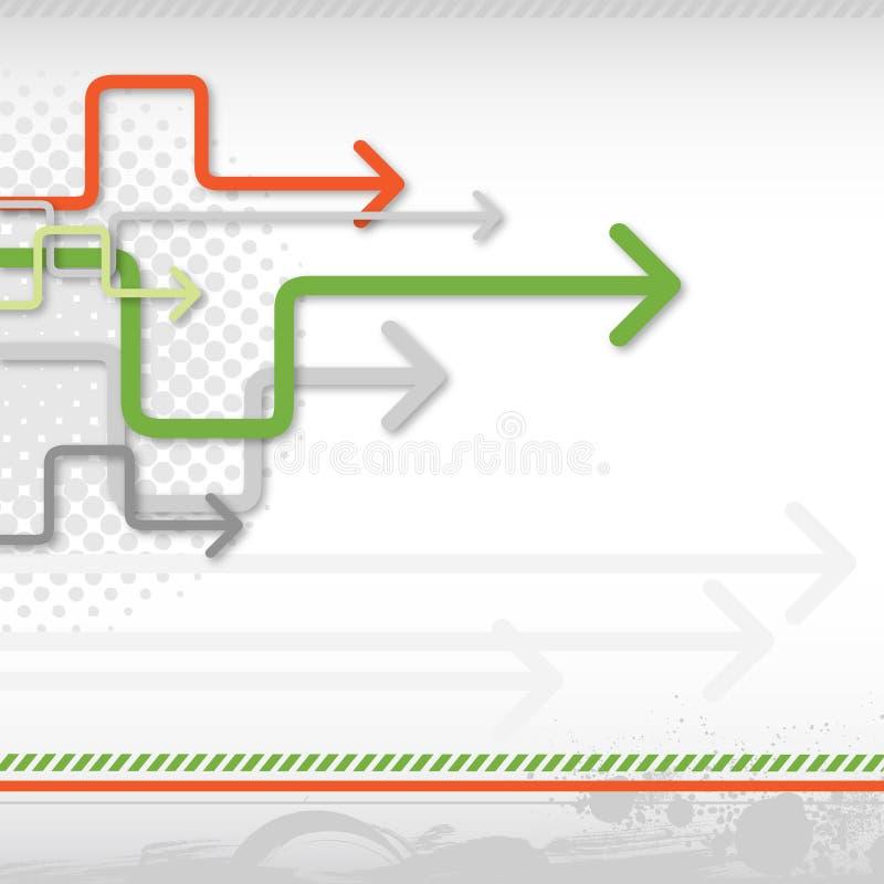 pilbakgrund stock illustrationer