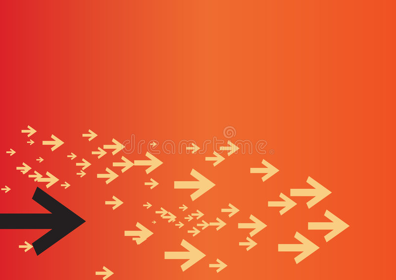 pilbakgrund vektor illustrationer