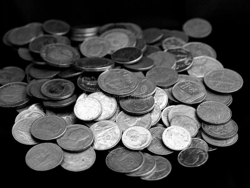 Pile 1 d'argent photographie stock