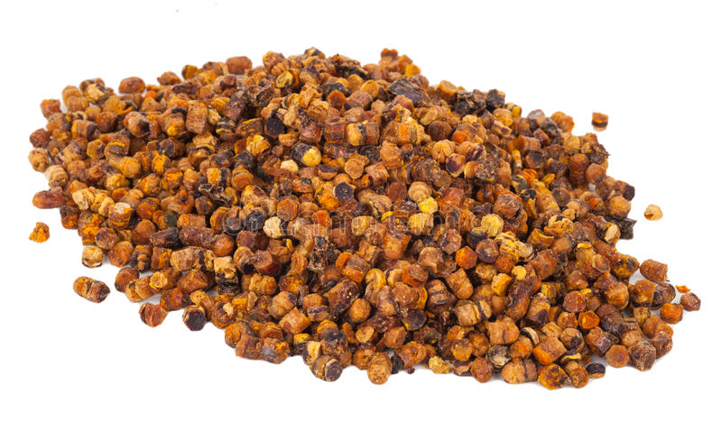 Pile of bee pollen, ambrosia stock image