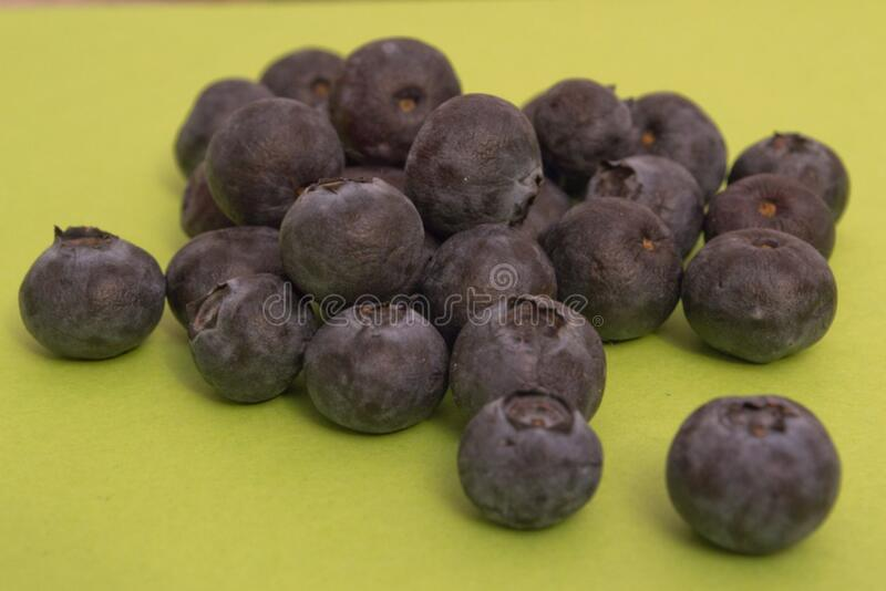 pile-of-bilberry royalty free stock images