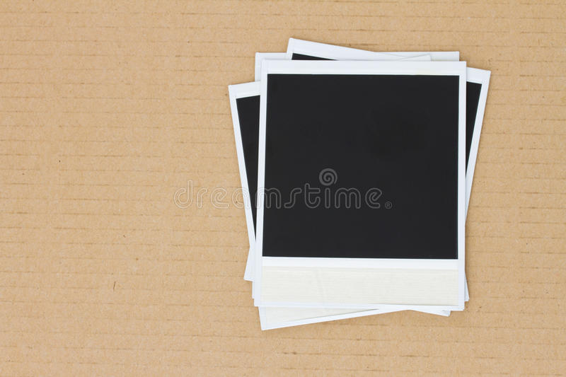 Download Pile of instant photo stock photo. Image of note, insert - 30120588
