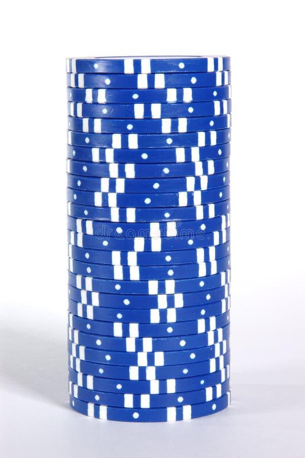 Pile bleue photo libre de droits