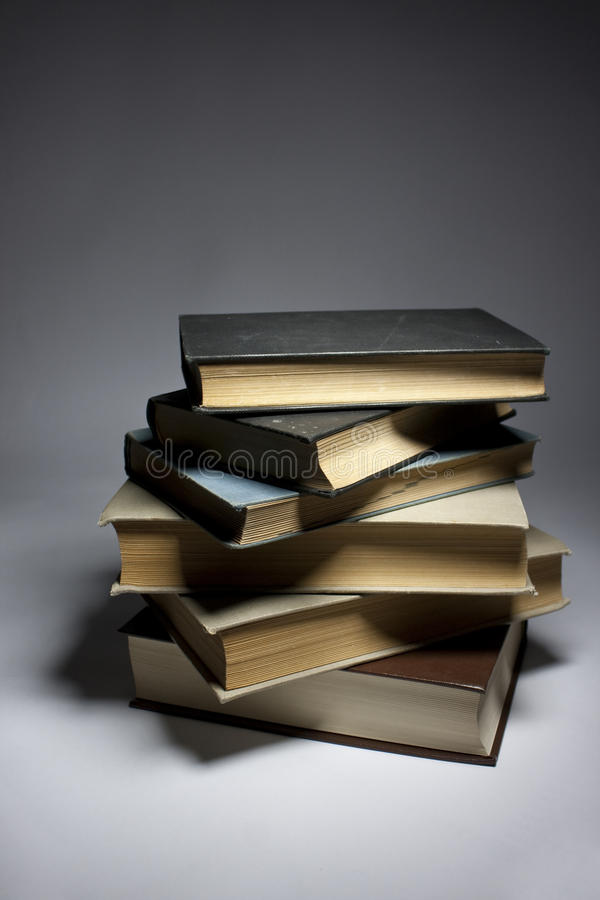 A Pile of Books royalty free stock image