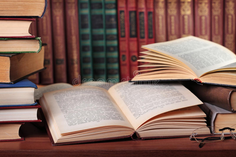 Download Pile of books stock image. Image of education, book, shelf - 20841005
