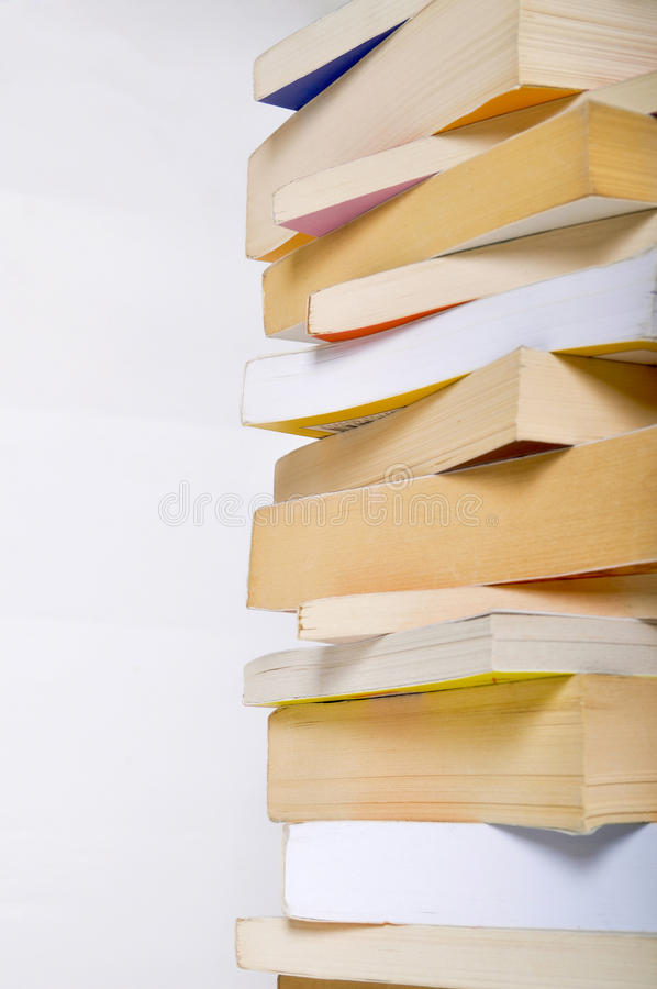 Download Pile of books stock photo. Image of information, high - 24776974