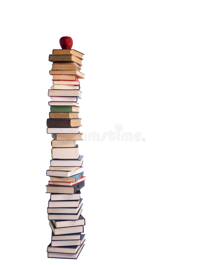 Download Pile Of Books Royalty Free Stock Image - Image: 2530706