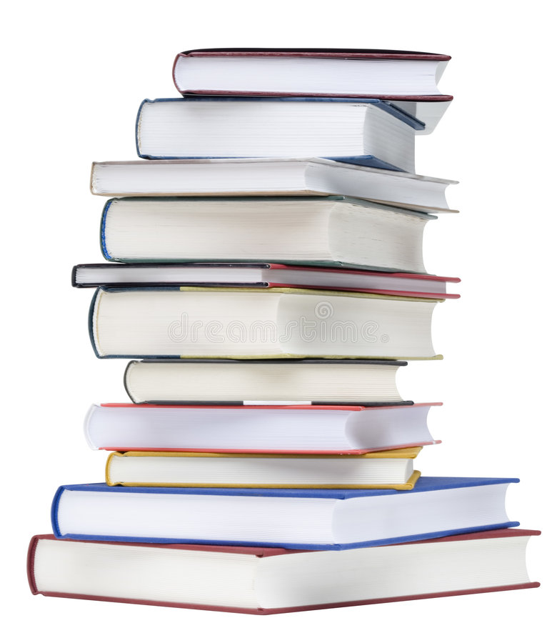 Download Pile Of Books stock image. Image of path, closeup, study - 3446421