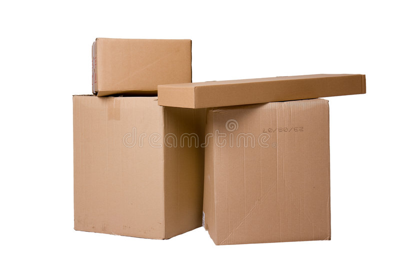 Download Pile of boxes stock photo. Image of deliver, industrial - 7753252
