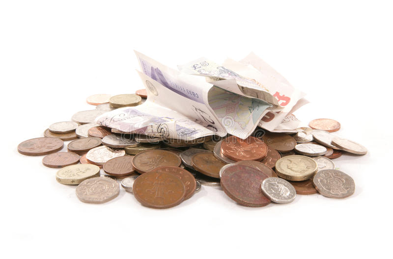 Download Pile Of British Currency Money Cutout Stock Photo - Image of credit, taken: 9739066