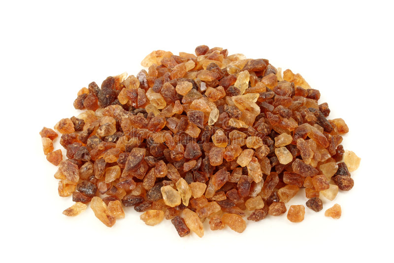 Pile  Of Brown Granulated Sugar Royalty Free Stock Photo