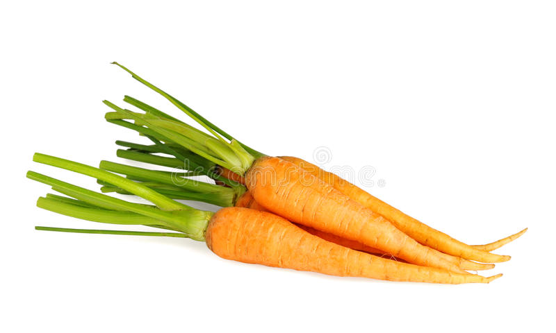 Pile of carrot royalty free stock image