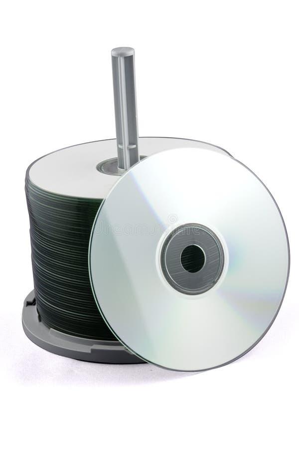 Pile CD images libres de droits
