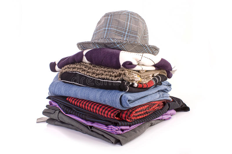 Download Pile of clothes stock image. Image of jeans, gender, fashions - 16090085