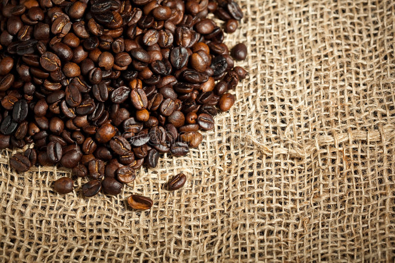 Download Pile of coffee beans stock image. Image of caffeine, coffee - 14144505