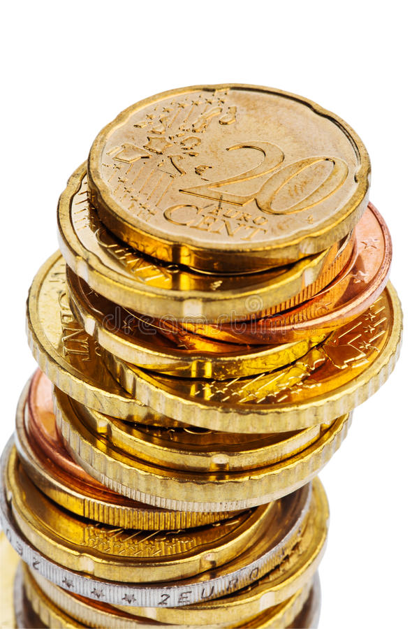 Download A Pile Of Coins stock photo. Image of bank, economy, currency - 20242476