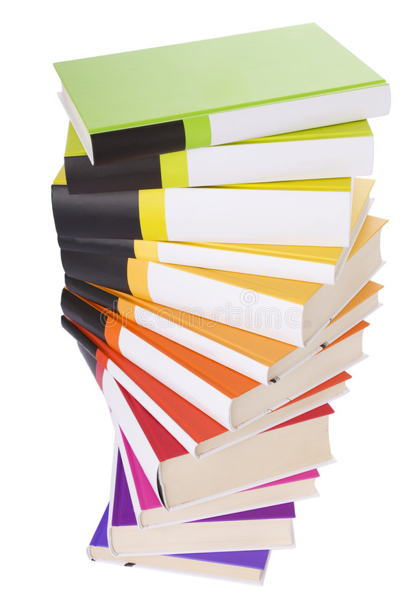 Download Pile of colorful books stock image. Image of pile, colorful - 6095401