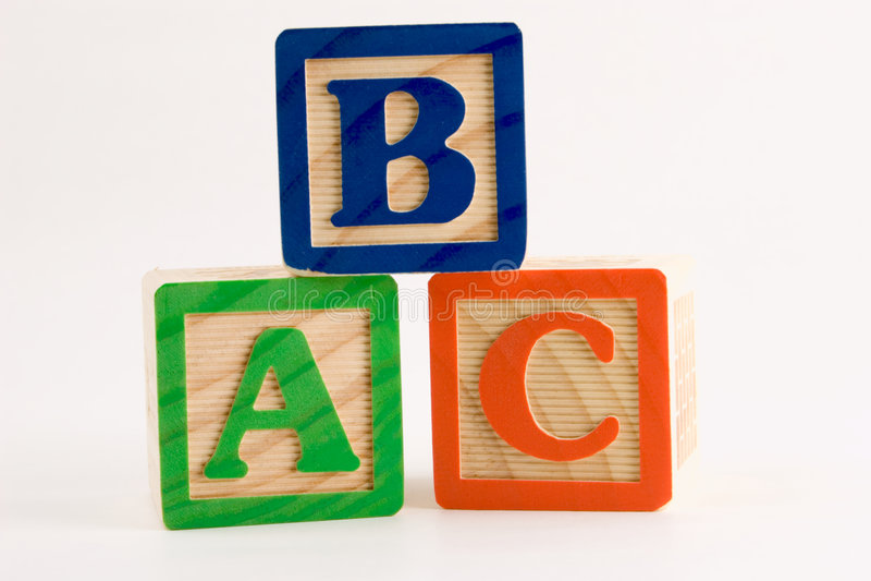 Pile d'ABC images stock