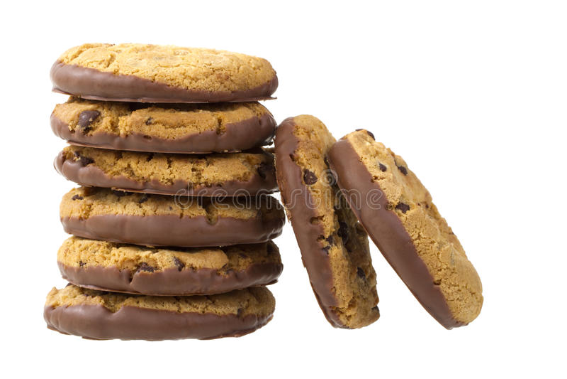 Pile de biscuits photos stock