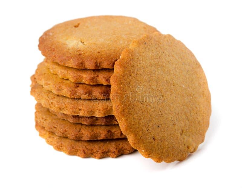 Pile de biscuits de sucre image libre de droits