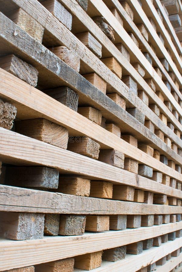 Pile de bois dur photo libre de droits