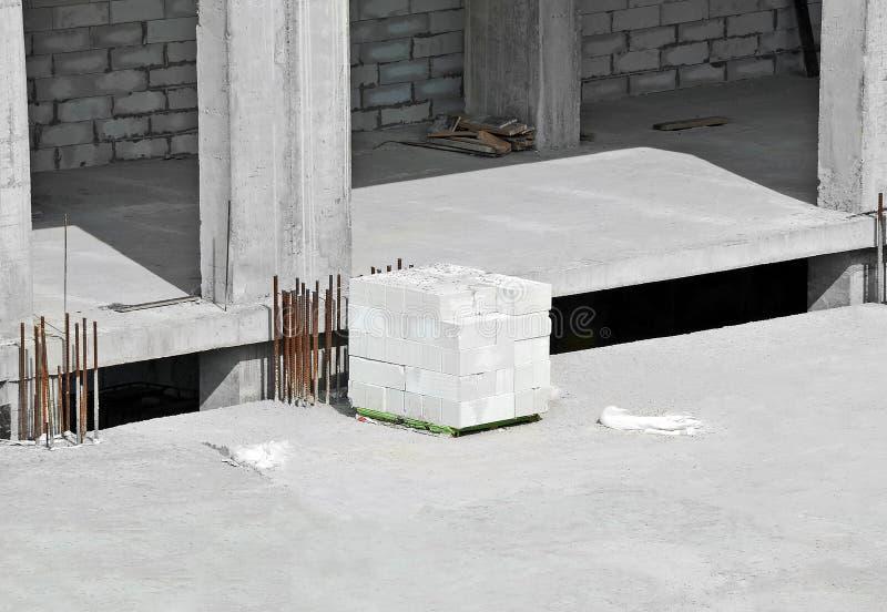 Pile de brique photo libre de droits
