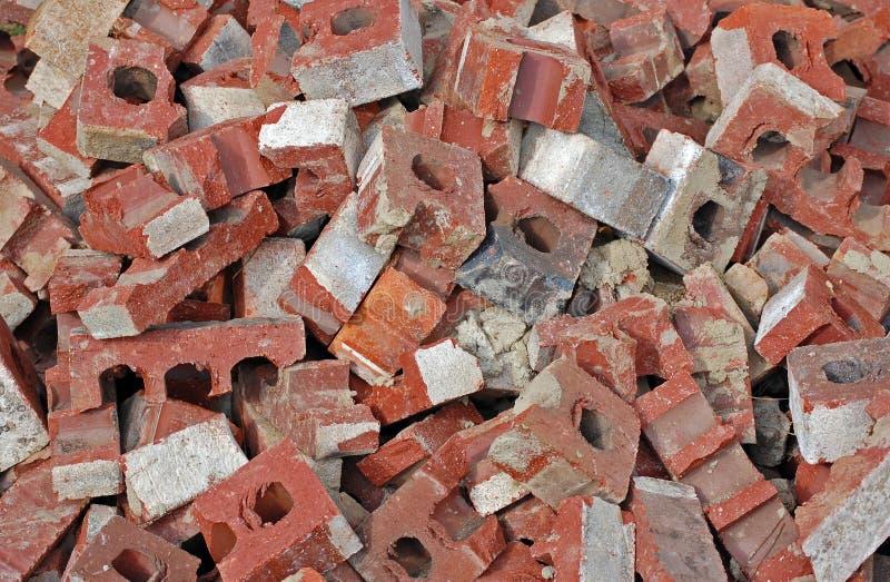 Pile de brique image stock