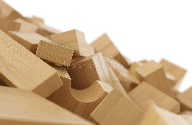 pile de briques en bois 3 illustration stock illustration du conception 84497562. Black Bedroom Furniture Sets. Home Design Ideas