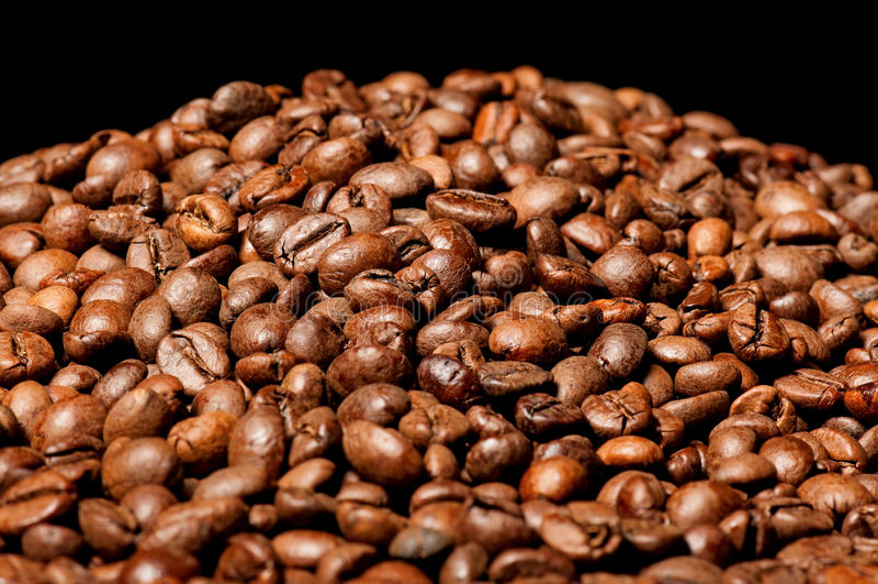 Pile de café photos libres de droits